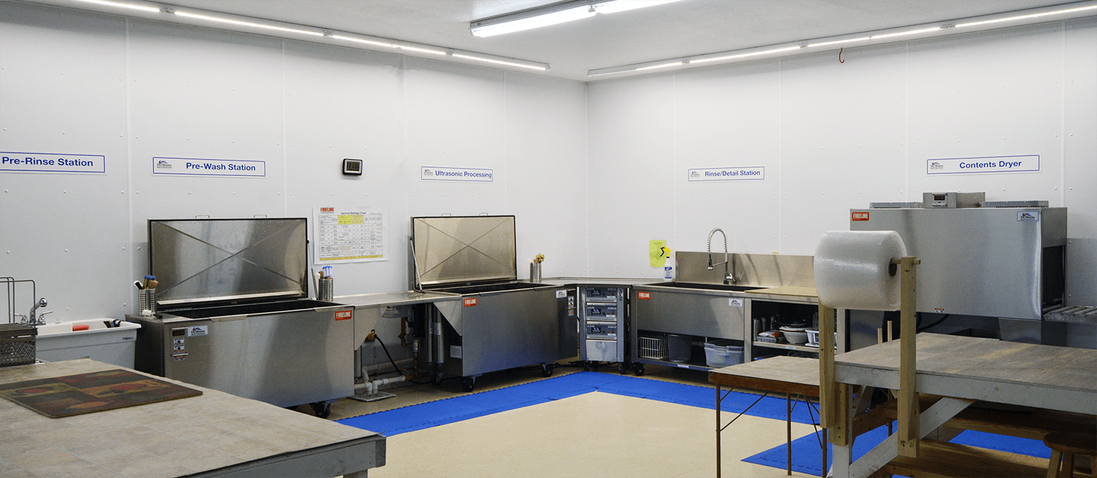 Ultrasonic Cleaning Process